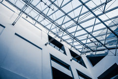Struttura architettonica moderna del lucernario Fotografia Stock
