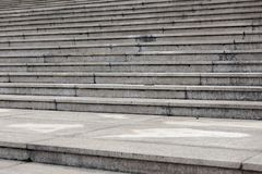 Struttura architettonica punto-moderna del cemento Immagine Stock Libera da Diritti