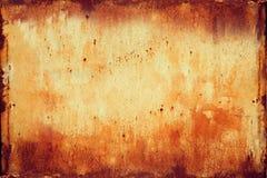 Struttura arrugginita 1 del metallo Fotografie Stock Libere da Diritti