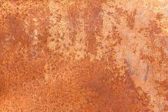 Struttura arrugginita del metallo, fondo arrugginito del metallo per progettazione Fotografia Stock Libera da Diritti