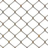 Struttura arrugginita della rete fissa (resa) Immagine Stock