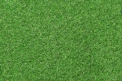 Struttura artificiale del campo di erba - grana fine Fotografia Stock