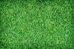 Struttura artificiale verde del tappeto erboso per fondo Fotografia Stock Libera da Diritti