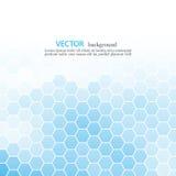 Struttura astratta blu del fondo - modello d'avanguardia del sito Web di affari con lo spazio della copia illustrazione di stock
