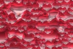 Struttura astratta del cuore Fotografie Stock Libere da Diritti