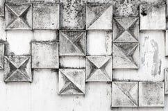 Struttura astratta del fondo con il modello quadrato Fotografia Stock