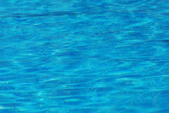 Struttura astratta del fondo della superficie dell'acqua blu Immagine Stock