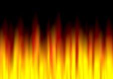Struttura astratta del fuoco Immagini Stock