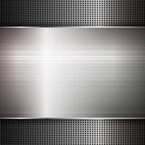 Struttura astratta del metallo Illustrazione di vettore Fotografia Stock Libera da Diritti