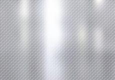 Struttura astratta del modello dei quadrati su fondo d'argento illustrazione di stock