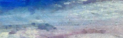 Struttura astratta dell'impressione Fondo luminoso artistico azione Materiale illustrativo della pittura a olio Carta da parati m royalty illustrazione gratis