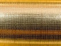 Struttura astratta dell'oro Fotografia Stock Libera da Diritti