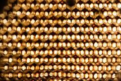 Struttura astratta della cera dell'ape Fotografie Stock Libere da Diritti
