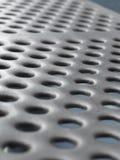 Struttura astratta delle zolle di metallo Fotografia Stock