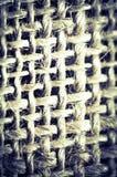 Struttura astratta di cotone blu Fotografie Stock