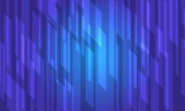 Struttura astratta di cristallo blu Royalty Illustrazione gratis