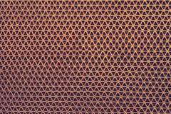 Struttura astratta di immagine dello zerbino marrone del metallo Fuoco molle fotografie stock
