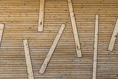 Struttura astratta di legno Immagini Stock