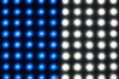 Struttura astratta di luce attraverso il vetro Immagine Stock