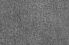 Struttura astratta grigia dipinta sul fondo della tela da dipinto Fotografia Stock Libera da Diritti