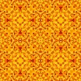 Struttura astratta moderna arancio Illustrazione dettagliata del fondo Modello della stampa del tessuto Mattonelle senza cuciture Immagini Stock