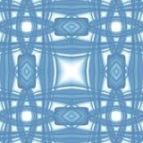 Struttura astratta moderna bianca blu Illustrazione elegante del fondo Mattonelle senza cuciture Modello della stampa del tessuto Immagini Stock