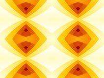 Struttura astratta moderna rossa di giallo arancio Illustrazione semplice del fondo Immagine Stock