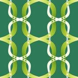Struttura astratta moderna verde Illustrazione semplice del fondo Campione domestico di progettazione del tessuto della decorazio Immagini Stock Libere da Diritti