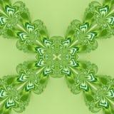 Struttura astratta operata verde del nastro Illustrazione semplice del fondo Fotografia Stock Libera da Diritti