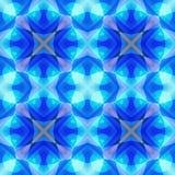 Struttura astratta porpora blu viva Illustrazione elegante del fondo Mattonelle senza cuciture Modello della stampa del tessuto D Fotografie Stock Libere da Diritti