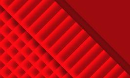 Struttura astratta rossa Fotografie Stock