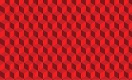 Struttura astratta rossa Fondo 3d di vettore lo stile di carta di arte può essere utilizzato nella progettazione della copertura, illustrazione di stock