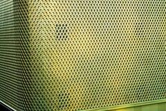 Struttura astratta sulla scanalatura, concetto di lusso dell'oro del fondo fotografia stock