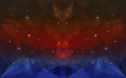 Struttura triangolare di deepcolor Fotografie Stock Libere da Diritti