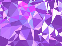 Struttura astratta Una struttura con le ombre e un volume multicolori e bei, fatto con l'aiuto di una pendenza e di un fille geom Fotografie Stock