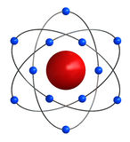 Struttura atomica Fotografia Stock