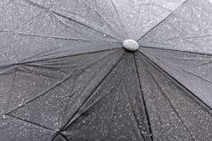 Struttura bagnata dell'ombrello fotografia stock libera da diritti