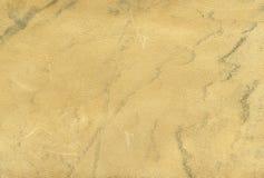 Struttura beige del cuoio genuino Fotografie Stock Libere da Diritti