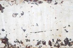 Struttura bianca arrugginita delle mattonelle di lerciume immagini stock libere da diritti