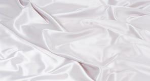 Struttura bianca astratta del tessuto Fotografie Stock Libere da Diritti