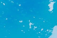 Struttura bianca, blu e ciano del fondo Mappa astratta con litorale del nord, mare, oceano, ghiaccio, montagne, nuvole illustrazione vettoriale