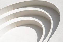 Struttura bianca del fondo della parete del gesso Fotografia Stock