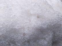 Struttura bianca del ghiaccio Fotografia Stock Libera da Diritti