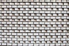 Struttura bianca del muro di mattoni fotografie stock libere da diritti