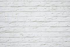 Struttura bianca del muro di mattoni Fotografia Stock