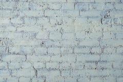 Struttura bianca del muro di mattoni Elegante con l'alta risoluzione di struttura bianca vecchia del mattone per la carta da para Fotografia Stock Libera da Diritti
