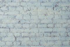 Struttura bianca del muro di mattoni Elegante con l'alta risoluzione di struttura bianca vecchia del mattone per la carta da para Immagini Stock Libere da Diritti