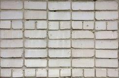Struttura bianca del muro di mattoni Modello dei mattoni di rivestimento Fotografia Stock Libera da Diritti