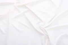 Struttura bianca del tessuto Fotografia Stock Libera da Diritti