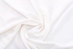 Struttura bianca del tessuto Immagine Stock